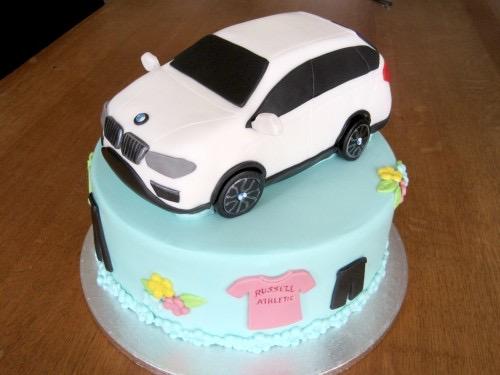 BMW stapel taart