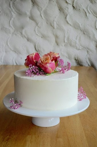 Bruidstaart met vers fruit