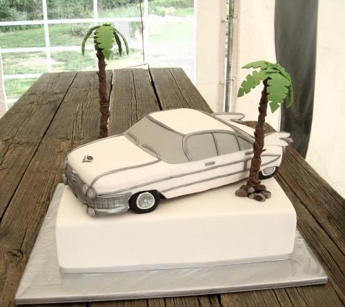 Cadillac taart