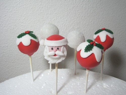 Cakepops kerst