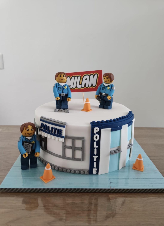 lego taart Milan