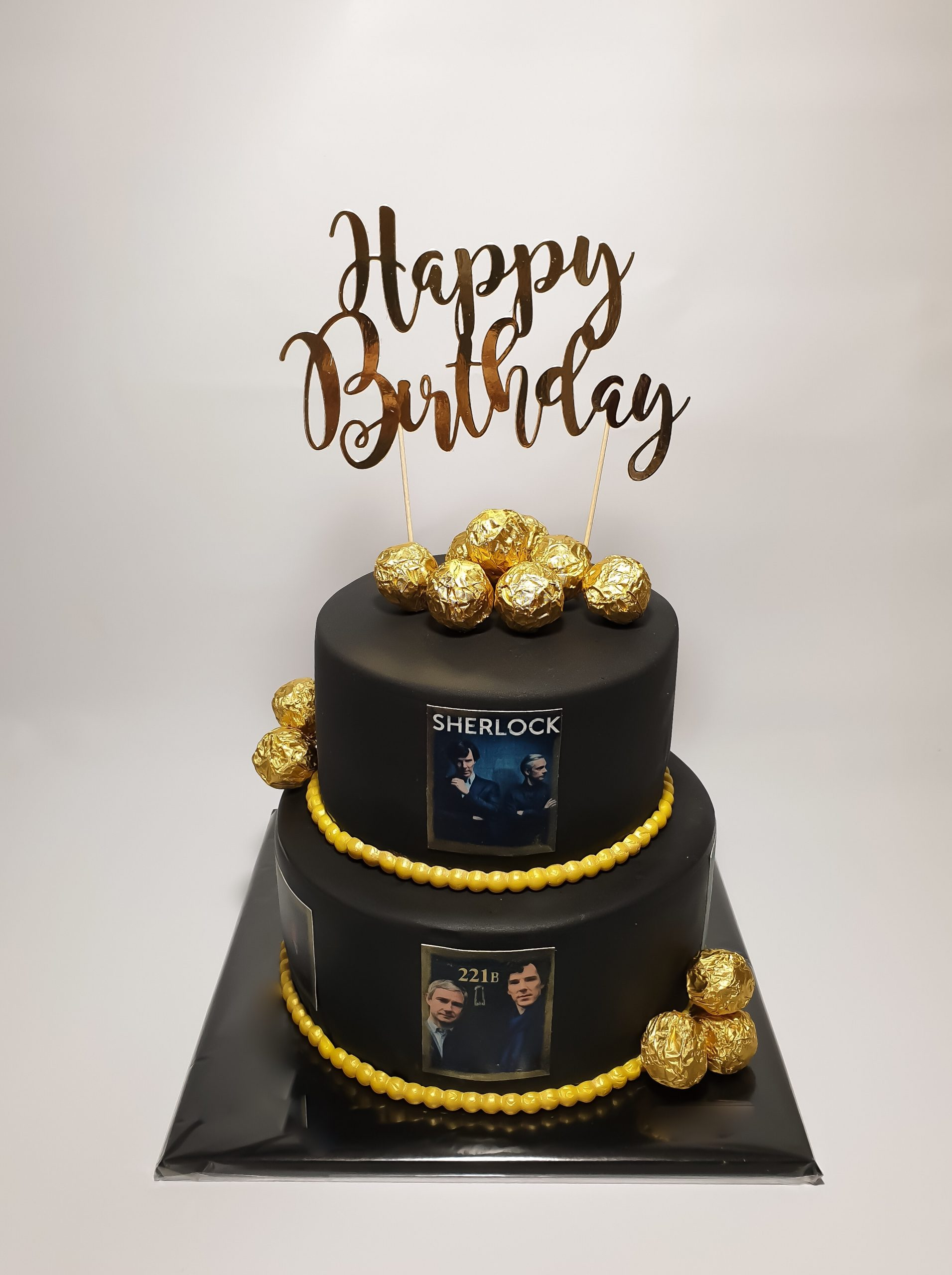 Sherlock taart