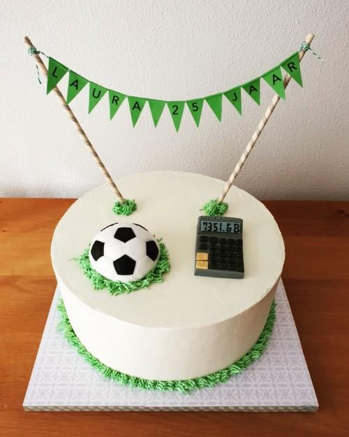 Sport taart voetbal