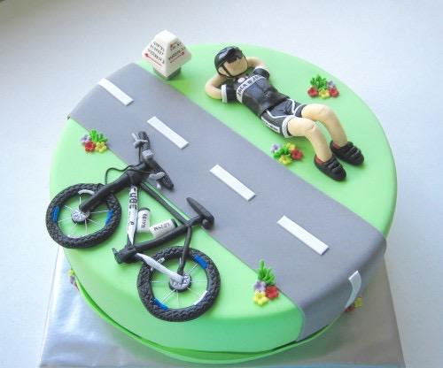 Wielren taart